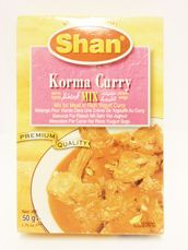 Korma curry mix 50g Shan - mixed spices - 788821003140 - 1