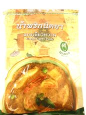 Green curry paste 1kg Nittaya - Spice paste - 8855237000031 - 1