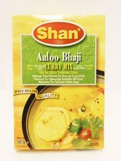 Aaloo bhaji curry mix 50g Shan - mixed spices - 788821043146 - 1