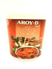 Red curry paste 400g Aroy-D - Spice paste - 016229906207 - 1