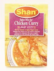 Chicken curry  50g Shan - mixed spices - 788821007148 - 1