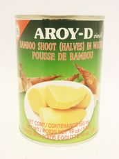 Bamboo shoot halves in water 540g Aroy-D - Bamboo - 016229006549 - 1